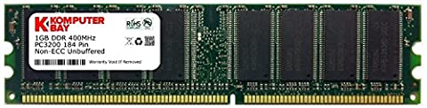 Komputerbay 1GB PC3200 Memory Upgrade for Dell Dimension 1100/2400/3000/8300/B110/OptiPlex Gx