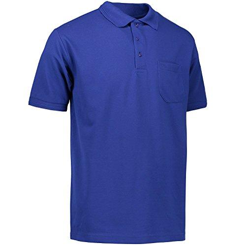 Pionier 41074-XL Poloshirt 320 PRO Wear mit Tasche Größe XL in königsblau