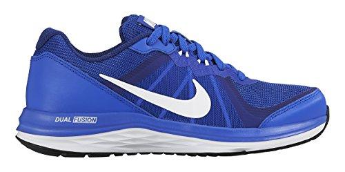 Nike Dual Fusion X 2 (Gs), Scarpe da Corsa Bambini e Ragazzi Blu (Blau (Racer Blue/White-Deep Royal Blue-White))