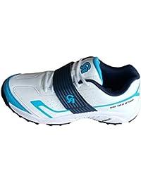 brand new 7a98b a7136 CA SM-18 Blue White Cricket Shoes (EU- Size 45)