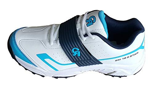 CA SM-18 Blue White Cricket Shoes (EU-43)