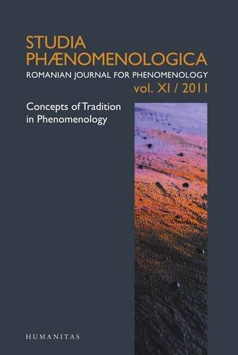 Concepts of Tradition in Phenomenology: Studia Phaenomenologica XI (2011)