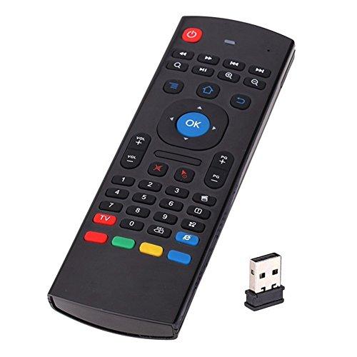 summeryoung 2.4G kabellose Fernbedienung Tastatur Air Maus für mx-q Smart TV Box Kodi XBMC