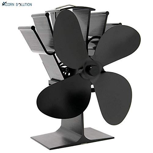Acorn ventilador alimentado por calor para estufa de leña y chimenea, respetuoso...