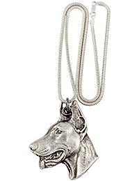 Dobermann, Hundehalskette, Silberne Kette 925, Limitierte Auflage, ArtDog 6c8956cd94