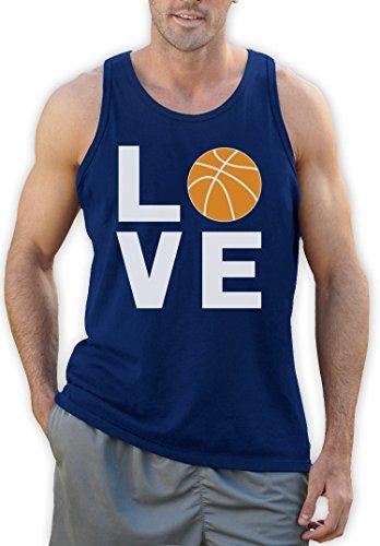 Love Basketball - Sportliches Geschenk für Freunde Tank Top Blau