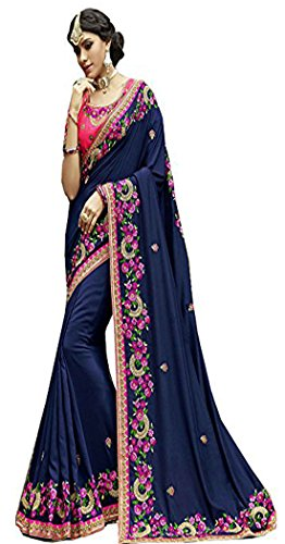 Bollywood Craze Latest Designer Embroidery Saree New Arrival Collection 2018 For Special...