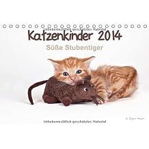 Katzenkinder 2014 - Süße Stubentiger - by Regine Heuser (Tischkalender 2014 DIN A5 quer): Beeindruckende Bilder von Katzenkindern (Tischkalender, 14 Seiten)