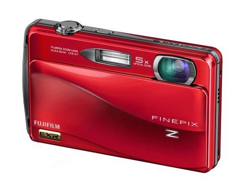 Fujifilm Finepix Z700EXR Digitalkamera (12 Megapixel, 5-fach opt.Zoom, 8,9 cm Display, Bildstabilisator) rot