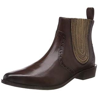 Melvin & Hamilton Women''s Marlin 3 Chelsea Boots, (Crust/Mogano + Fondo Elastic Cover Nappa/Aztek Bronze/Ela Brown/Ls BRW),4.5 UK (37 EU)
