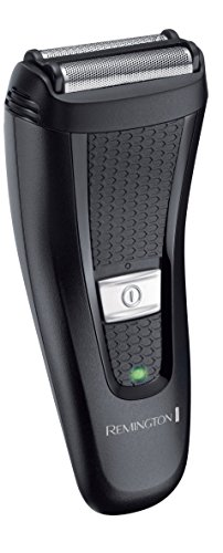 Remington PF7200 Comfort Series - Afeitadora de láminas flexibles, doble lámina, inalámbrica, indicador LED