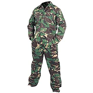 G5 Apparel Camo Army DPM Coveralls Overalls Boiler Suit Workwear Boilersuit Military