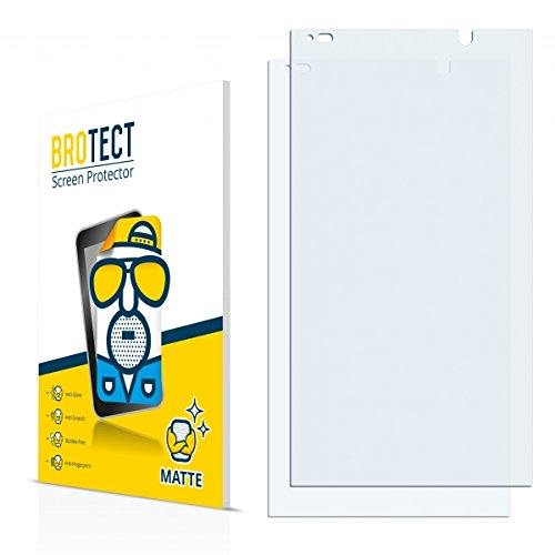 2X BROTECT Matt Bildschirmschutz Schutzfolie für HP Slate 6 VoiceTab II (matt - entspiegelt, Kratzfest, schmutzabweisend)