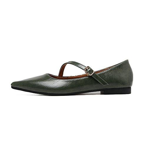 A&NDiug00052 - Scarpe chiuse Donna Verde