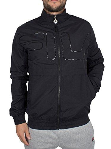 fila-vintage-hombre-kekova-logo-zip-chaqueta-de-chandal-negro-medium