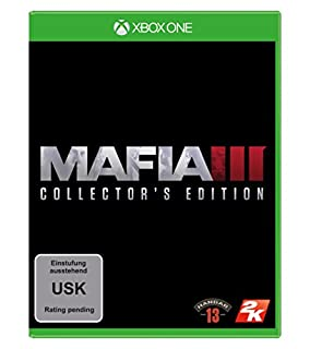 Mafia III - Collector's Edition - [Xbox One] (B01ENPR86Q) | Amazon price tracker / tracking, Amazon price history charts, Amazon price watches, Amazon price drop alerts