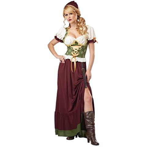Costumes Womens Sexy Renaissance Wench Adult Halloween Costume Medium