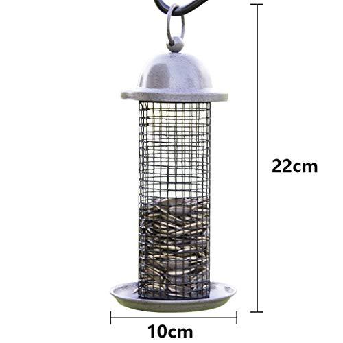 LXRZLS Kleine und mittlere Bird Birds Feeder für die einfache Reinigung und Befüllung von Bird Feeder (Color : Gray) Gray-mount