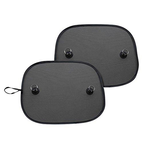 Auto Mesh Sonnenschutz faltbar Nylon Seite Schilde mit Super Saugnapf (1Paar/Pack)