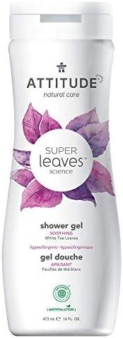Attitude Super leaves Soothing Shower Gel, 473 ml, 16 Fl Oz (Pack of 1)