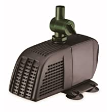 Blagdon Minipond Pond Pump 700 (to Run Fountains for Small Ponds up to 1500 Litre), 3 Fountain Heads