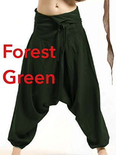Gekko -  Pantaloni  - Donna Verde foresta