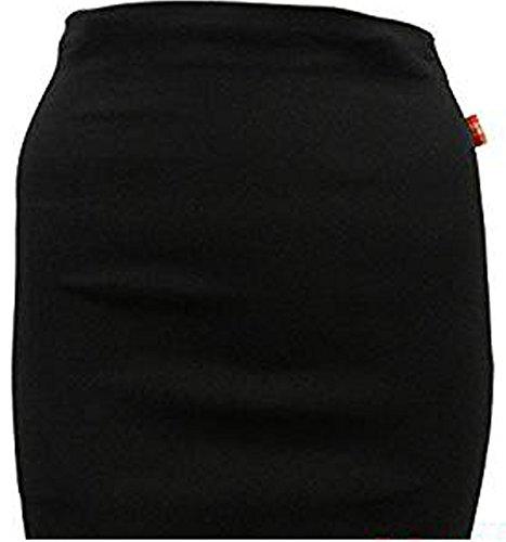 Miss Sexies Mädchen Hose Gr. 42, Black Mini Skirt
