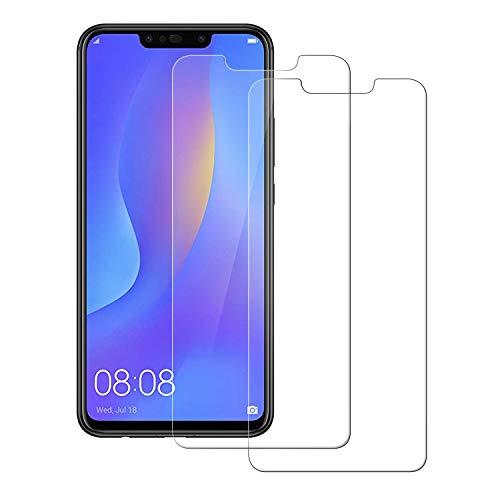 81caa54e565 POOPHUNS Cristal Templado Huawei P Smart Plus, 2-Unidades Protector de  Pantalla Cristal Vidrio Templado Premium para Huawei P Smart Plus [3D Touch  ...