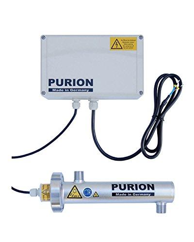E-coli-bakterien Im Wasser (PURION 400 Wasseraufbereitung mit UV-C für Trinkwasser 10W 300 l/h UV-Anlage (PURION 400 12V))
