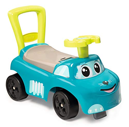 Smoby - 720525 - Porteur Auto Bleu
