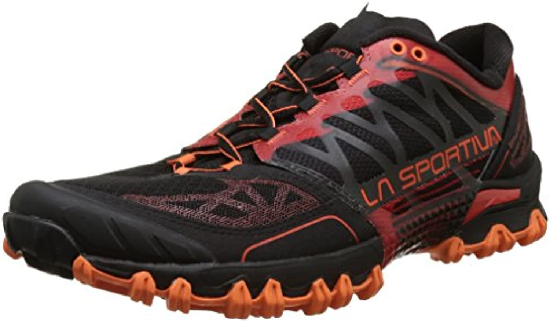 La Sportiva Bushido Flame - Zapatillas de running, color rojo, talla 45.5