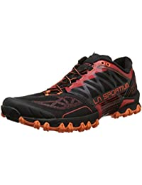 La Sportiva Bushido Flame - Zapatillas de running, color rojo, talla 41.5