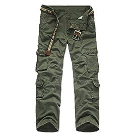 Pantaloni mimetici da Donna Pantaloni Lunghi Larghi Cargo Militari Pantaloni Sportivi Hip-Hop da Strada Pantaloni Sportivi alla Caviglia