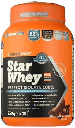 named integratore, proteine, siero di latte - 0.75 kg