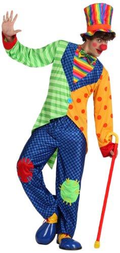 Imagen de atosa  disfraz de payaso para hombre, talla 52 15669
