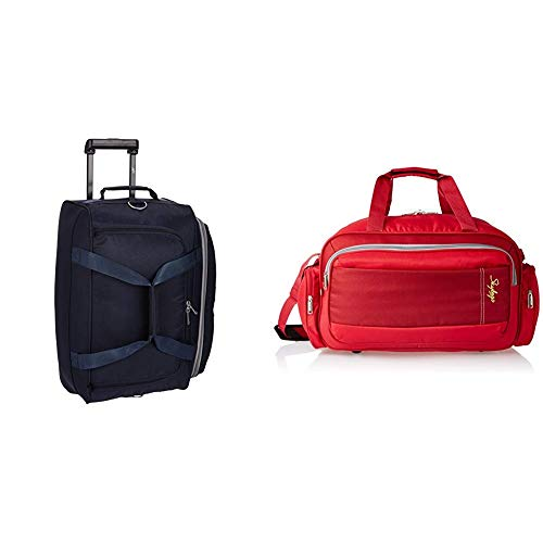 Skybags Cardiff Polyester 52 cms Blue Travel Duffle + Cardiff Polyester 55...