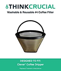 Washable and Reusable Cone Coffee Filter