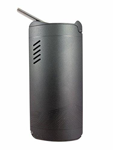 Konvektion Vaporizer XVAPE FOG Metall Gehäuse und Keramik Mundstück - premium Verdampfer mit wechselbarer 2600 mAh Batterie - Vape Bong für Weed, Kräuter, Wachse und Öle
