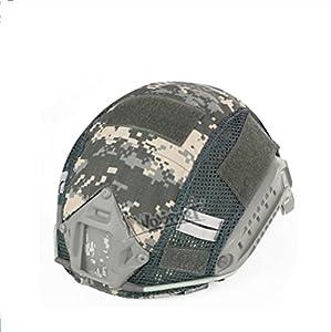 Tactique Casque Rapide Couverture Camouflage Couverture Airsoft Paintball Tir Casque Accessoire pour FAST MH / PJ Casque