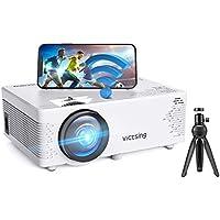 Mini proyector,VicTsing Proyector WiFi 5000 lúmenes,Soporta Full HD/Bluetooth,Mini Proyector Portátil,50000Horas,Compatible con TV Stick/PC/iPad/Chromecast/PS4/USB/IOS/Android/DVD/HDMI(Trípode gratis)