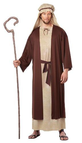 California Fancy Dress Kostüm Jungen Erwachsene Saint Joseph Kostüm, - Moccaccino,Natural, - Saint Kostüm Für Erwachsene