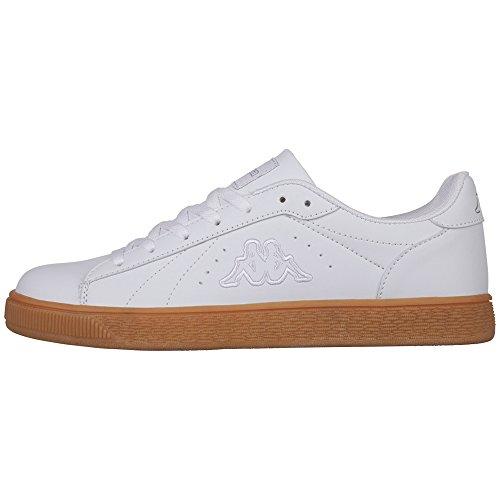 Kappa Meseta RB, Sneaker Unisex – Adulto Weiß (1010 White)