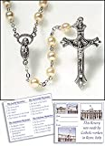 Living Grace Glass Pearl Rosary