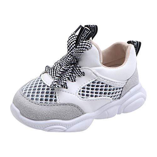 VECDY Sandalias Bebe Niña, Moda Suave Zapatos 2019 Niños Bebé Niñas Oso Malla Carta Correr Deporte...