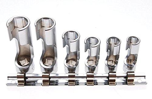 Preisvergleich Produktbild BGS Spezial-Steckschlüssel-Einsätze,  10 mm,  3 / 8 Zoll,  geschlitzt,  6-teilig,  1105