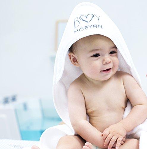Mabyen Baby Handtuch - Badehandtuch Kapuze Kapuzenhandtuch 100% Baumwolle Weich...