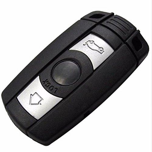 FeLiCia Remote Smart Key Case Für BMW 5Er 3 Buttons Key Shell Mit Aufkleber