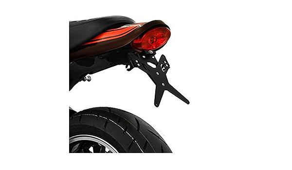 PROTECH Kennzeichenhalter X-SHAPE KAWASAKI Z900 2017 schwarz Farbe