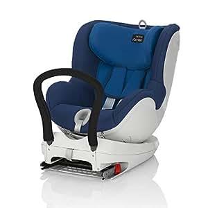 Britax-Romer Dualfix Seggiolino Auto, colore blu (ocean blue), taglia fino a 15 kg