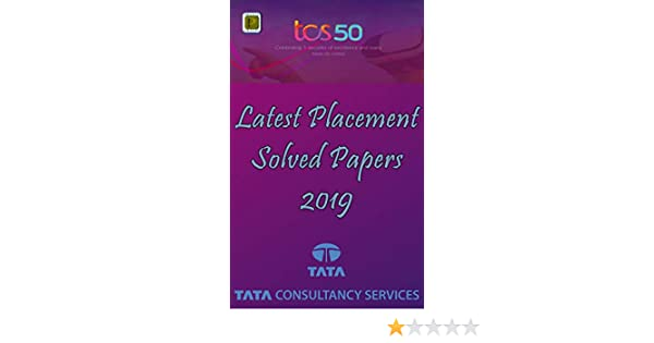 TCS: Latest Placement Solved Papers 2019 eBook: Praxis Groups